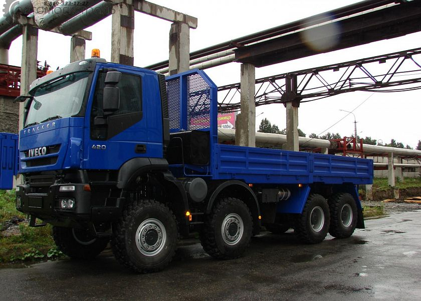 Автомобиль бортовой 8х8 AT/AD410T41/45W (IVECO-AMT)